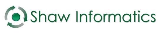 Shaw Informatics Retina Logo
